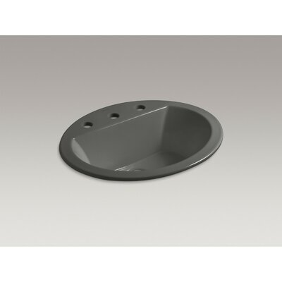Ceramic Oval Drop Bathroom Sink Overflow Set Of