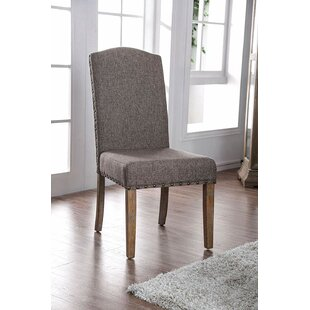 Bourque Upholstered Side Chair In Brown (Set Of 2) By Red Barrel Studio