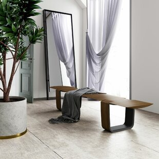 Addington Wood Bench by Modloft Black
