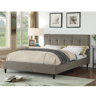 Brayden Studio Horst Square Stitched Upholstered Platform Bed