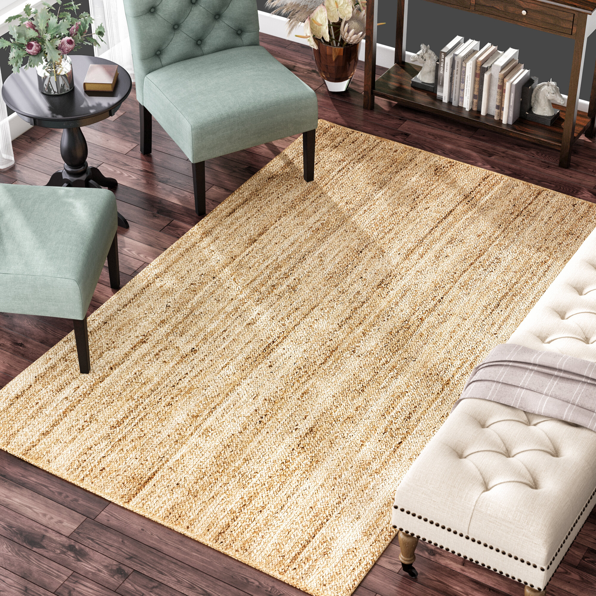 Bay Isle Home Shreya Handmade Braided Jute Sisal Beige Area Rug Reviews Wayfair