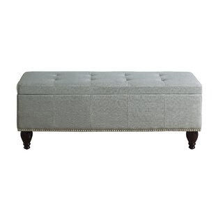 Darrah Upholstered Storage Bench Charlton Home