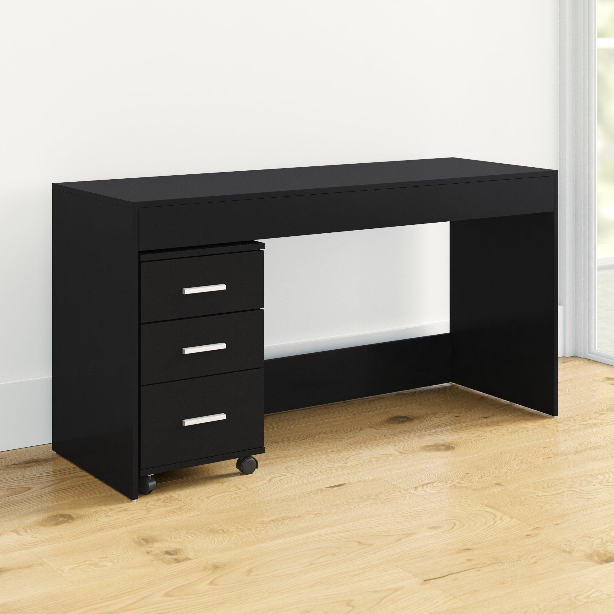 Latitude Run Remillard Simple Style Work Desk Reviews Wayfair
