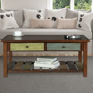 Inexpensive Roemer Coffee Table with Storage By Bloomsbury Market