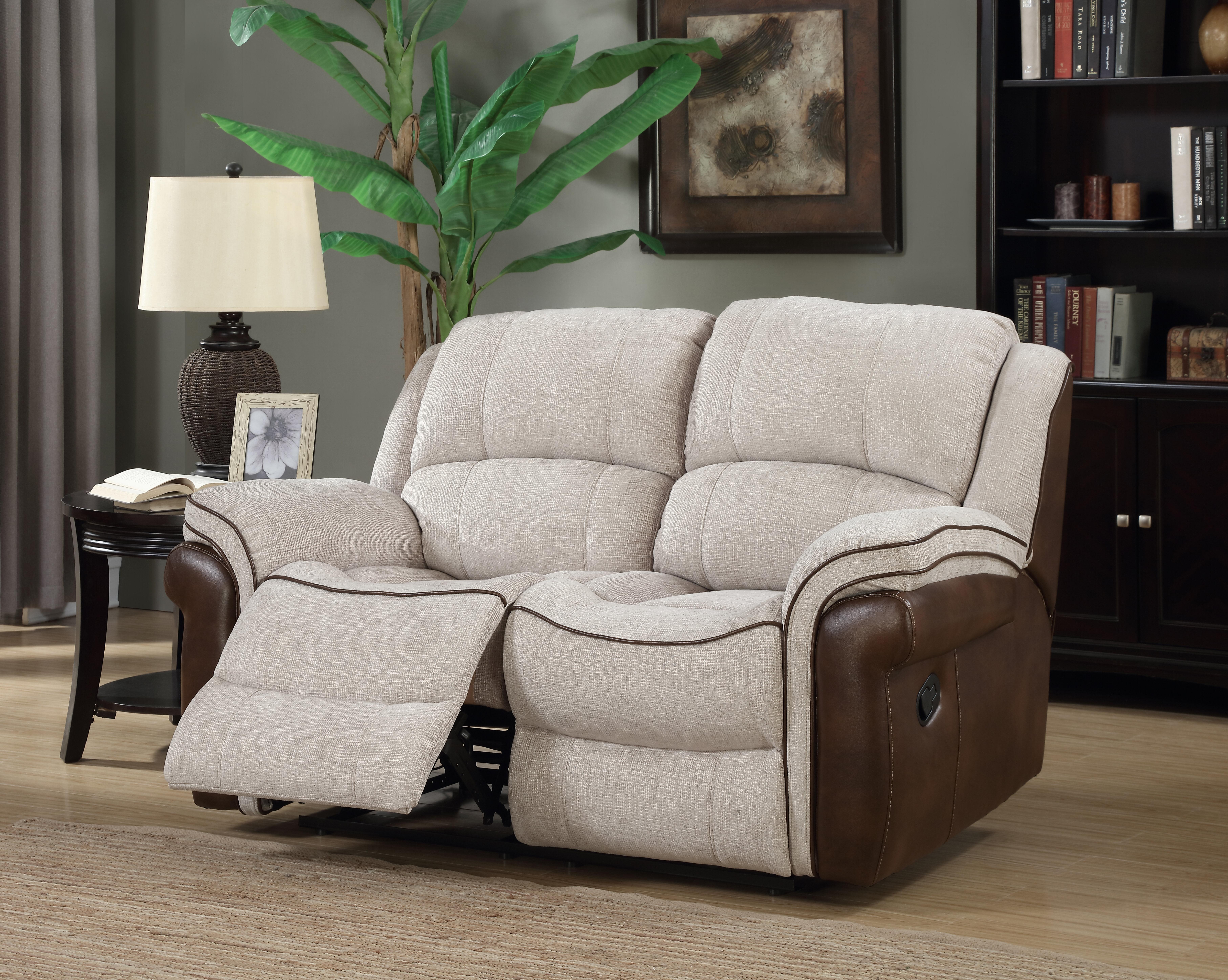 Three Posts Storrs 2 Seater Reclining Sofa & Reviews   Wayfair.co.uk
