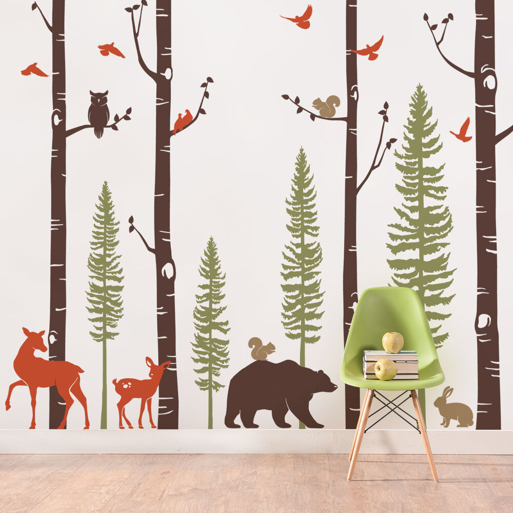 Animal Wall Decals Free Shipping Over 35 Wayfair