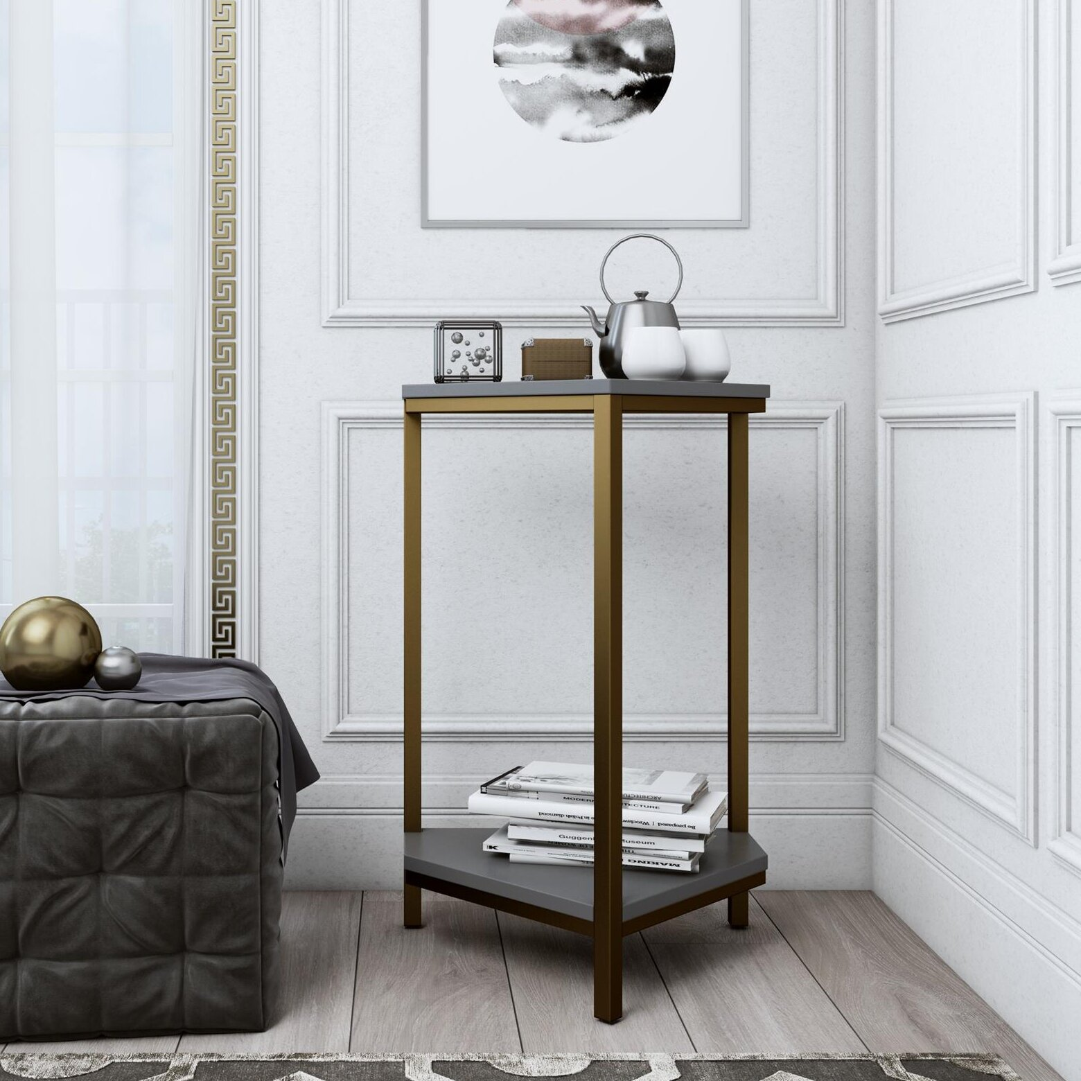 Tall End Side Tables Over 28 In You Ll Love In 2021 Wayfair