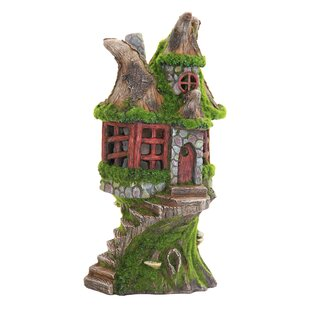 Solar Cottage Statue by Exhart