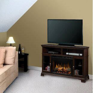 Brookings TV Stand with Fireplace by Dimplex