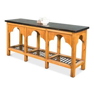 Ewart Railroad Trestle Prep Kitchen Island