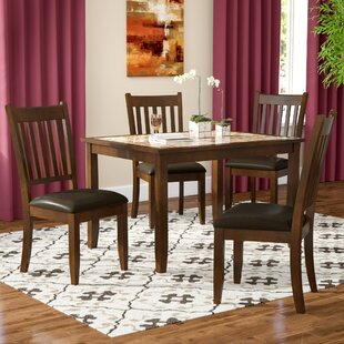 Ventura 5 Piece Dining Set Red Barrel Studio