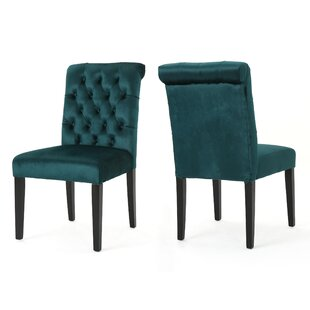 House of Hampton Lyra Tufted Upholstered Dining Chair