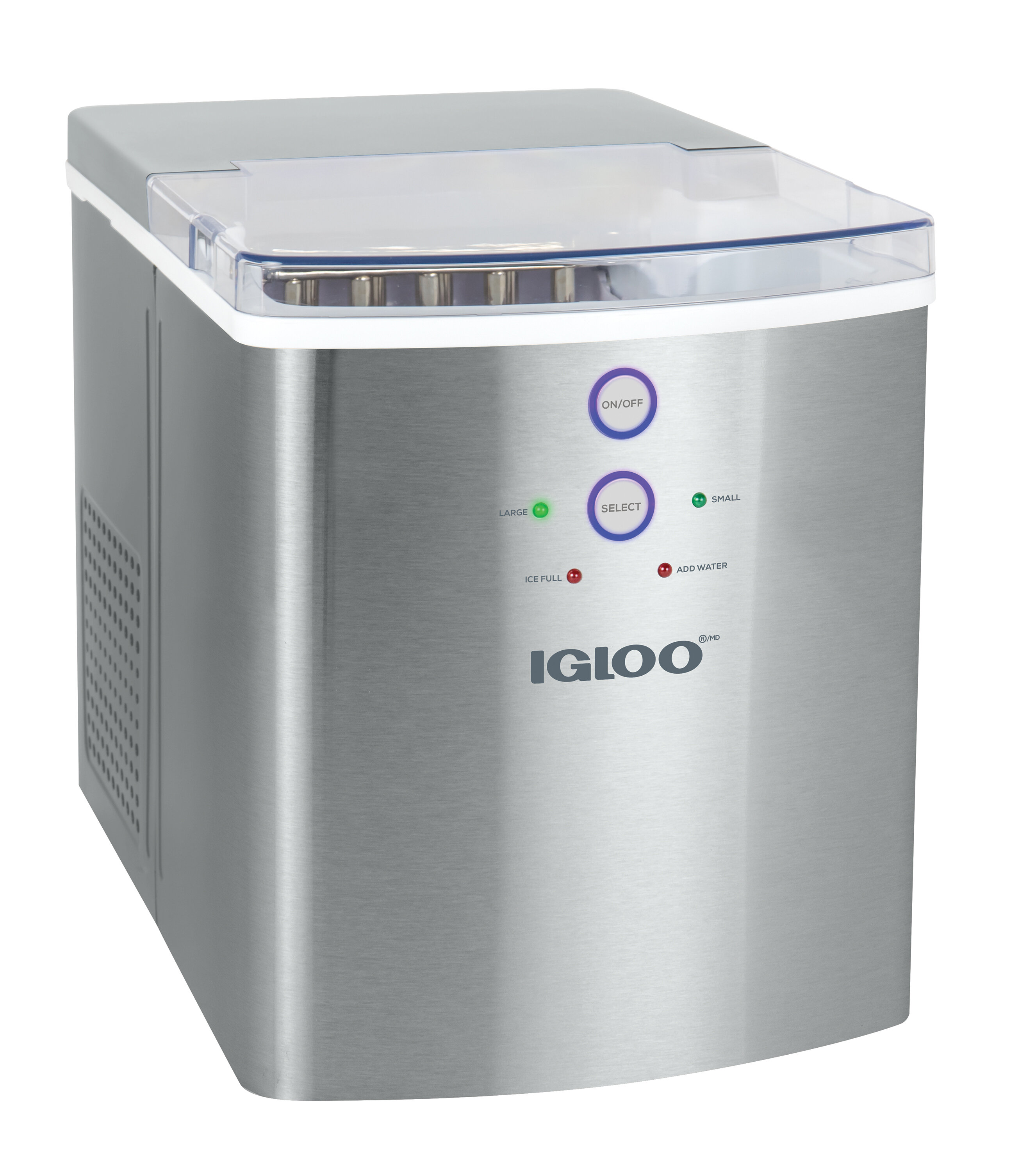 Igloo Large Capacity Automatic 33 Lb Daily Production Portable Ice Maker Reviews Wayfair