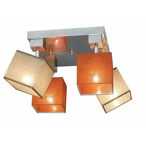 Partee 4 Light Ceiling Spotlight Brayden Studio Frame