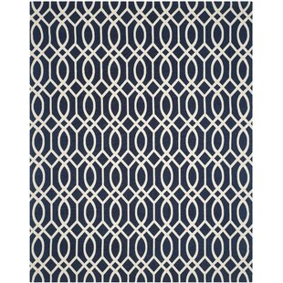 Great deal Quentin Road Navy/Ivory Area Rug ByAlcott Hill