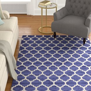 Purchase Coughlan Blue/Ivory Area Rug By Charlton Home