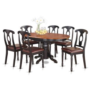Aimee 7 Piece Dining Set August Grove