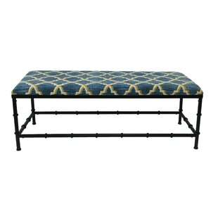 Amerson Upholstered Bench by Everly Quinn