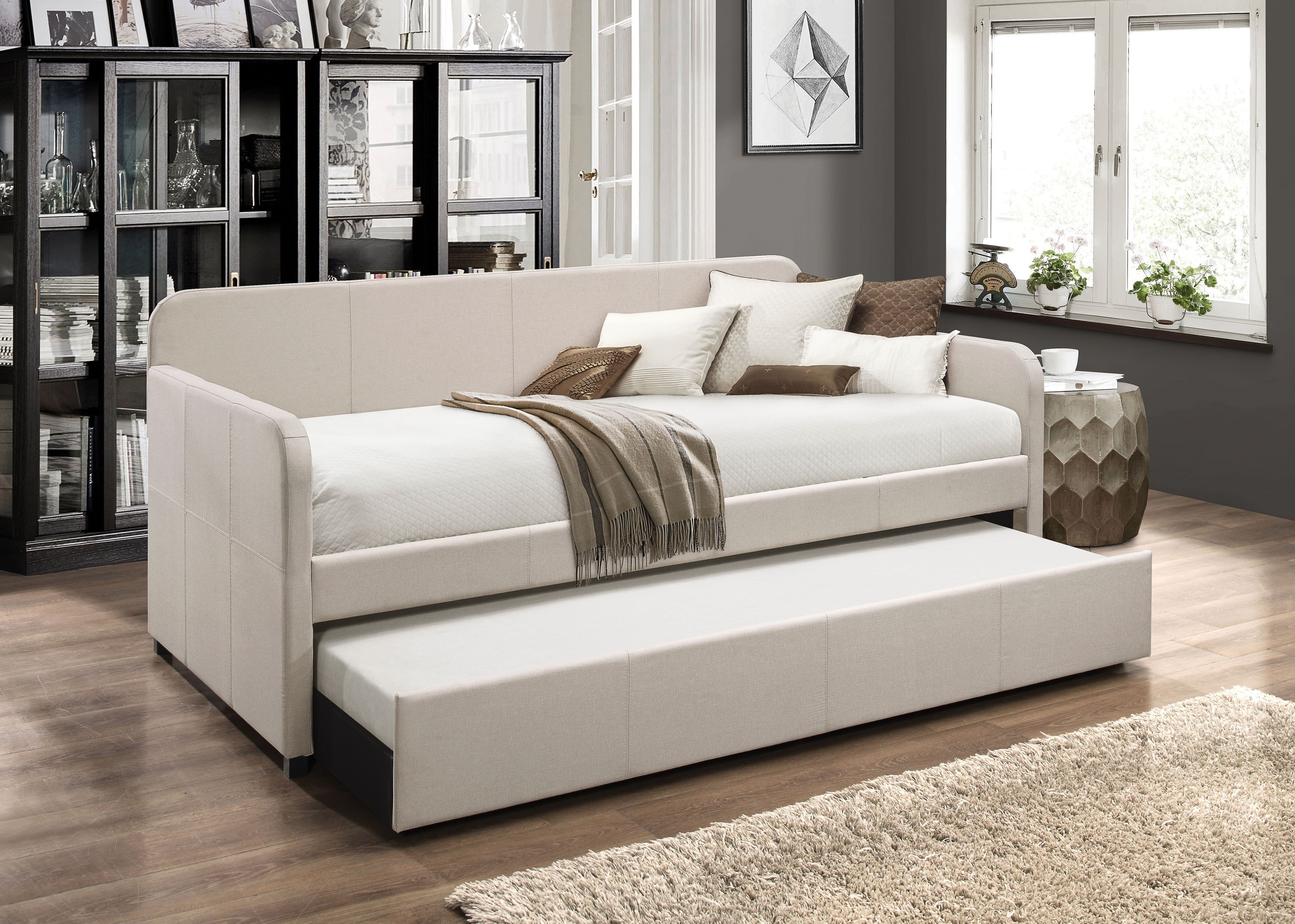 - Winston Porter Levesque Twin Daybed With Trundle Wayfair