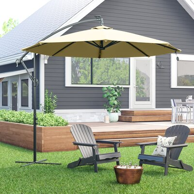 Anna 9.6 Cantilever Umbrella by Freeport Park Amazing
