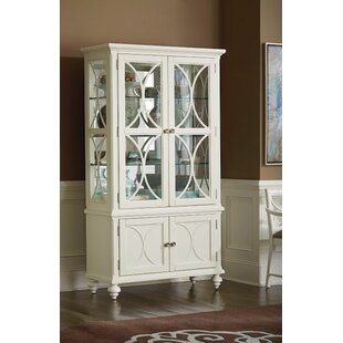 Cay Lighted Curio Cabinet by Birch Lane? Heritage