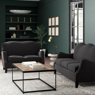 Greyleigh Teri 2 Piece Living Room Set