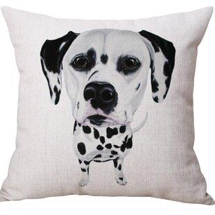 Flomaton Dog Square Throw Pillow (Set of 2)