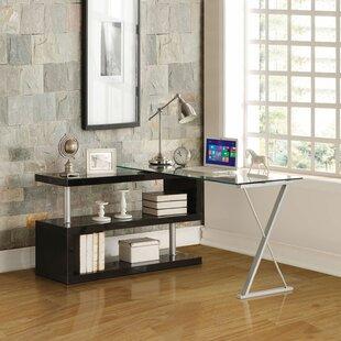 Bairoil Modern L-Shape Credenza desk