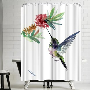 Bargain Suren Nersisyan Hummingbird Shower Curtain By East Urban Home
