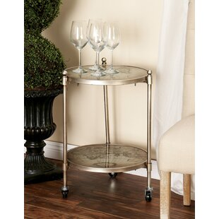 Reviews Vicki End Table by Mistana