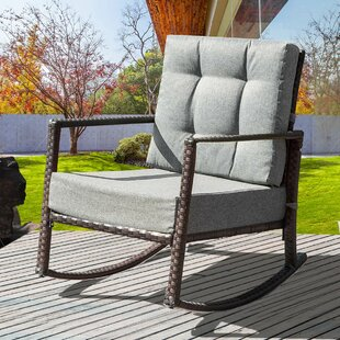 Pleasant Dania Rocking Chair With Cushions Hot Deals 30 Off By Ivy Gmtry Best Dining Table And Chair Ideas Images Gmtryco