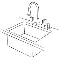 This Sink Is Designed To Be Installed Under The Counter For A Cleaner  Appearance. Because There Are No Exposed Edges, This Style Makes Countertop  Cleanup ...