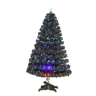 4bcb98a0cf2 3ft Green Artificial Christmas Tree with 90 Multi-Coloured Lights with Star