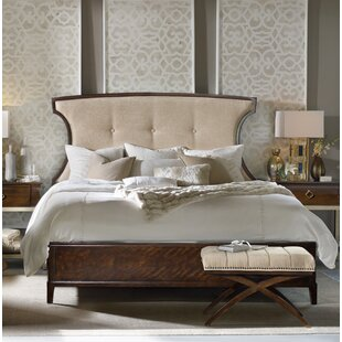 Hooker Furniture Skyline Upholstered Panel Bed
