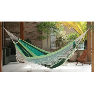 Stripe Cotton Tree Hammock