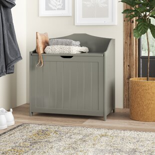 Ashbury Cabinet Laundry Bin By Three Posts