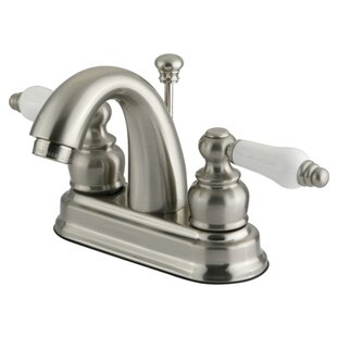 Elements of Design Restoration Centerset Bathroom Faucet with Drain Assembly Image