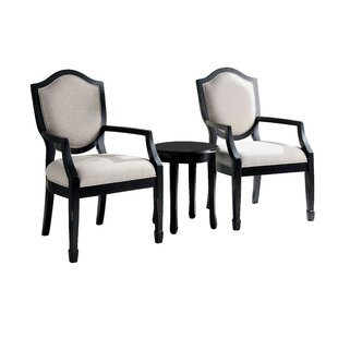Deals Bash Armchair (Set of 3) by Darby Home Co Reviews (2019) & Buyer's Guide