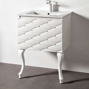 Crewellwalk 610mm Wall Mounted Single Vanity Unit By Canora Grey