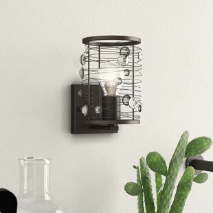 Kendra 1-Light Armed Sconce by Trent Austin Design
