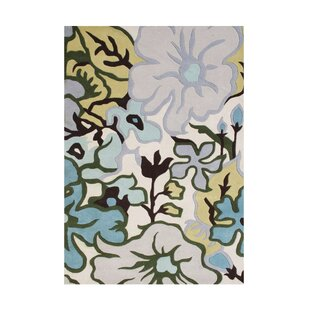 Best Price Shoffner Hand Tufted Wool White Area Rug ByRed Barrel Studio
