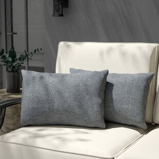 Ettinger Water Resistant Rectangular Outdoor Lumbar Pillow (Set of 2)