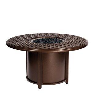Woodard Casa Aluminum Fire Pit Table