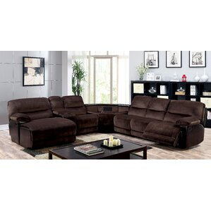 Breanne Reclining Sectional by Winston Porter