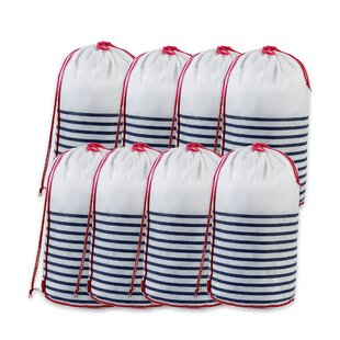 Mariniere Laundry Bag (Set Of 8) By Rebrilliant