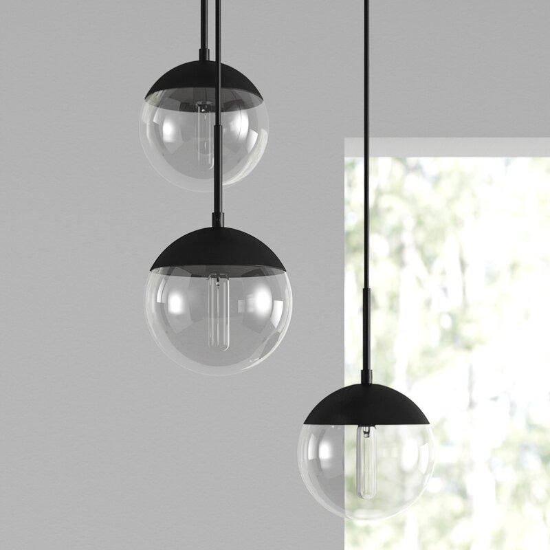 Emil 3 - Light Cluster Globe Pendant