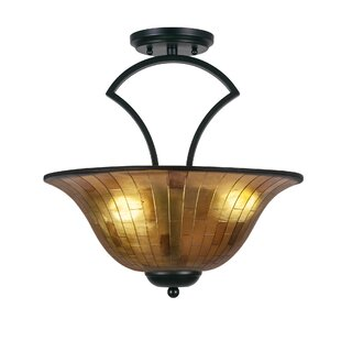 Cambridge 3-Light Semi-Flush M..