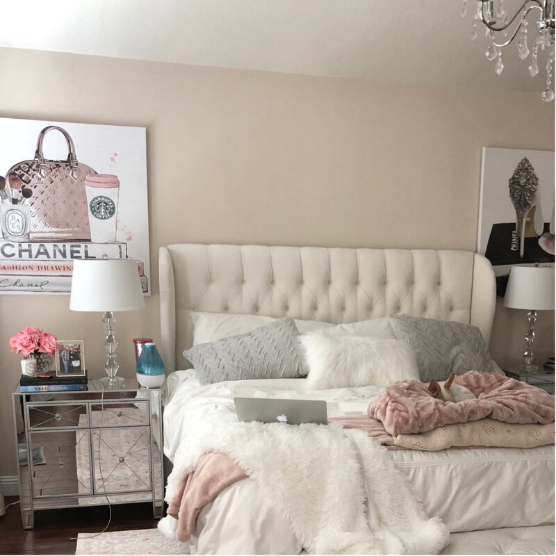 Glam Bedroom Design Photo By Wayfair