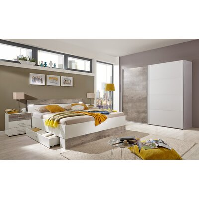 Forestdream 4-tlg. Schlafzimmer-Set Capri, 180 x 200 cm | Wayfair.de