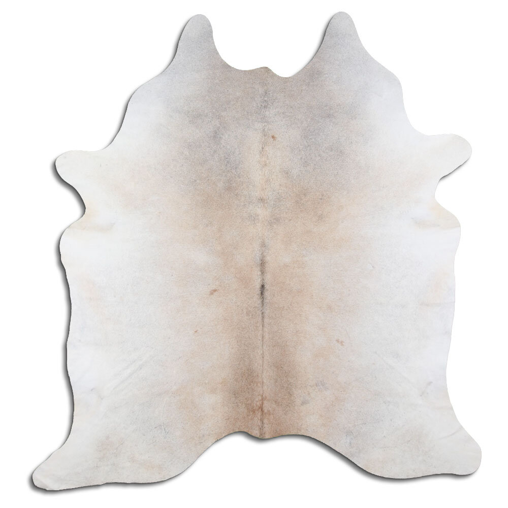 Foundry Select Phair Handmade Cowhide Beige Area Rug Wayfair
